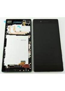LCD display + dotyková plocha + rám čierna originál Sony Z5 Compact